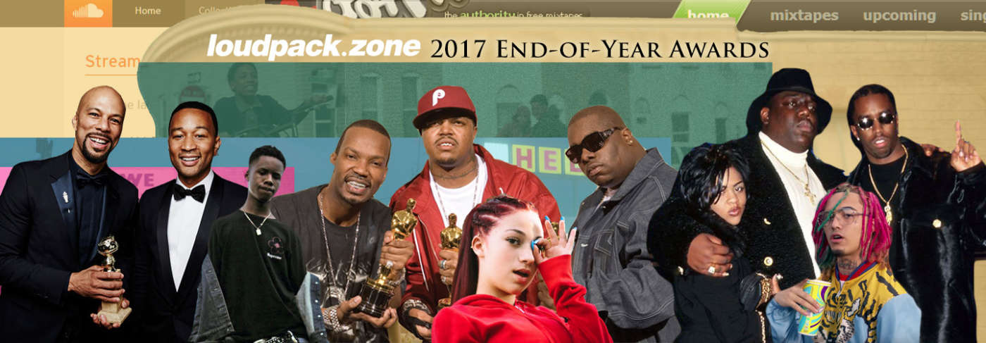 loudpack 2017 end-of-year awards